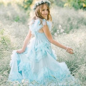 NWT Dollcake Sweetly In The Trees Baby Blue